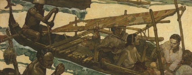 RPC River Scene 1931