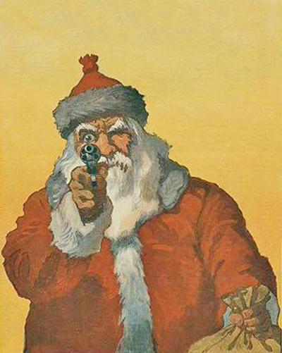 Santa with a Gun