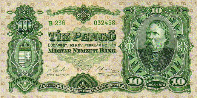 1929 10 Pengo
