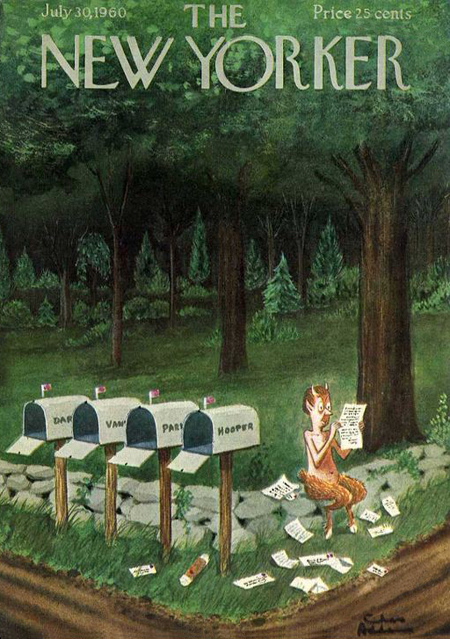 Mail Chas Addams