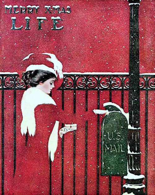 Mail Coles Phillips 1909