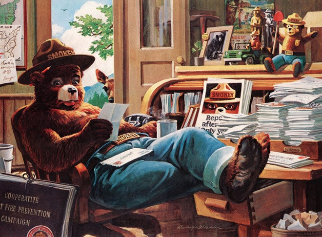 Mail-for-Smokey-the-Bear