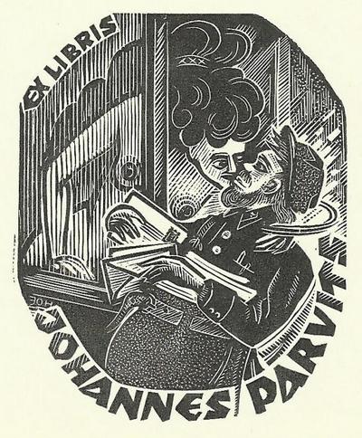 Postman Bookplate