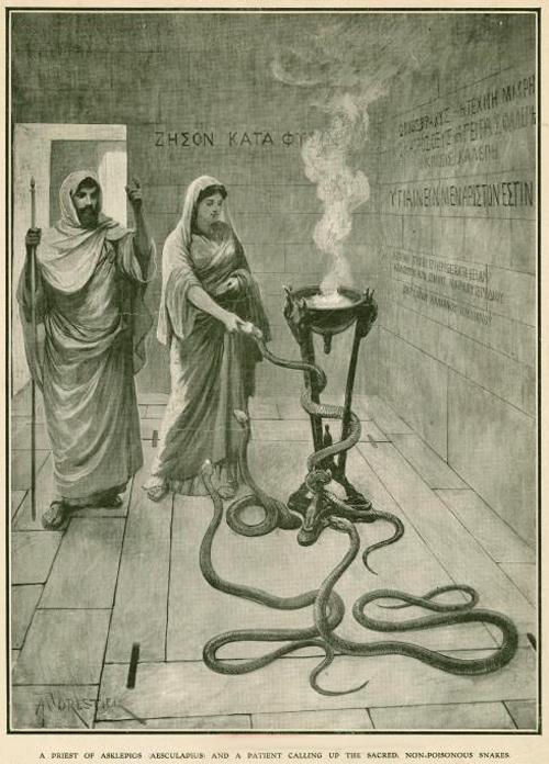 Incense Snakes NYPL