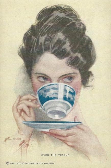 Tea Harrison Fisher copy