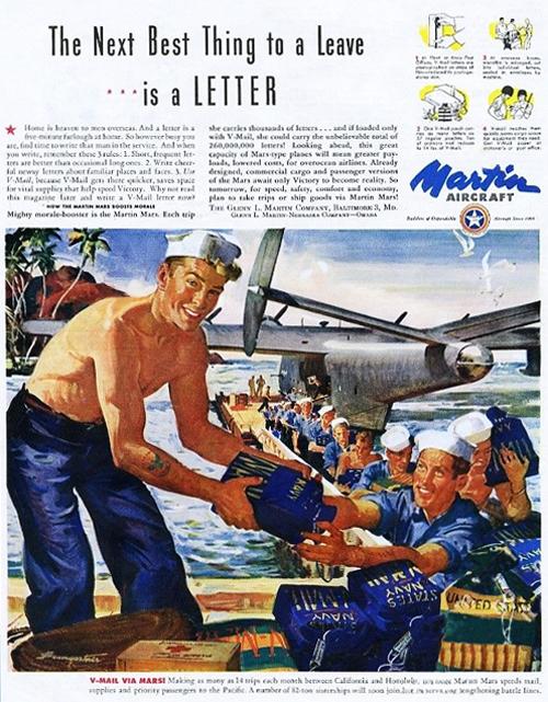 Letter V Mail