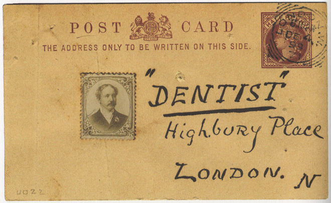 dentist stamp