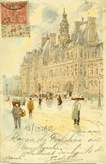 Mail Henri Cassiers, 1902