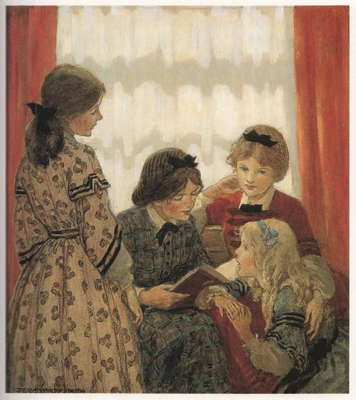 JWS Girls Reading