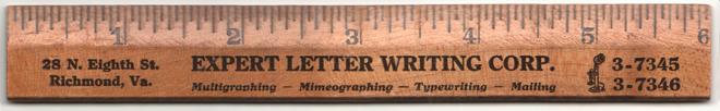 ruler front