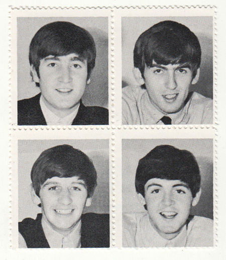 Beatles Poster Stamps