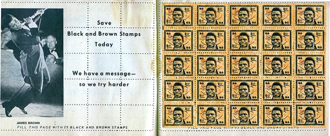 James Brown Stamps Read Seen Heard