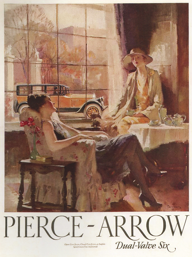 Tea with Pierce Arrow
