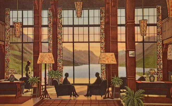 Lobby Postcard