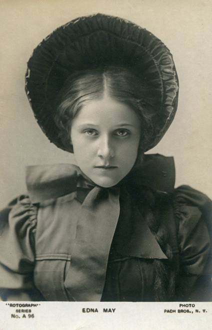 Edna May Postcard