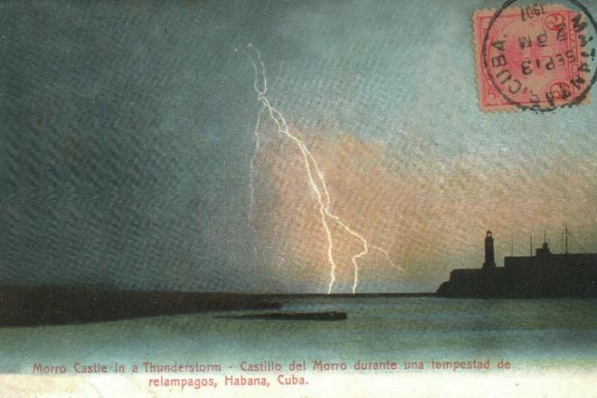 Lightning Moro Castle
