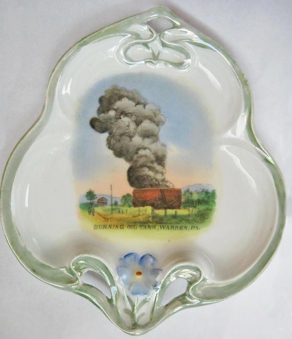 Oil Tank Dish