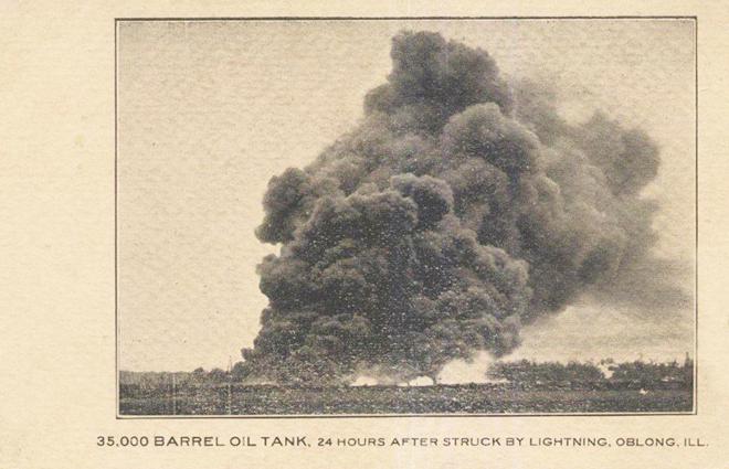 Oil Tank Oblong