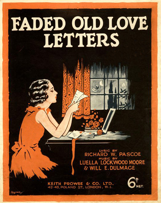 PO Faded Letters