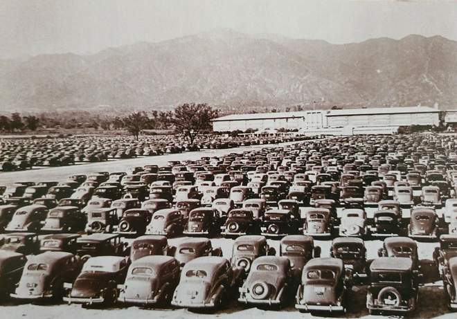 Santa Anita Parking Lot